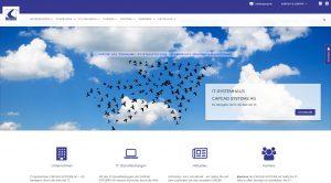 Abbildung CAPCAD Systems AG Homepage