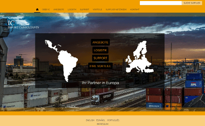 Import Consultants Offizielle Website